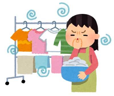 2.洗濯物量を乾燥容量の範囲内にして生乾き防止
