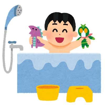 4.お風呂に水をためて追い焚き