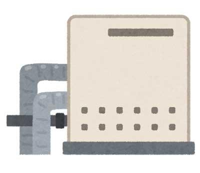 3.給湯器本体の確認