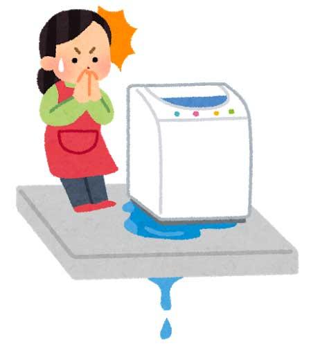 乾燥フィルター内に水が溜まるトラブル