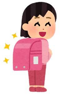 子供宛(女の子)の入学祝いメッセージ例