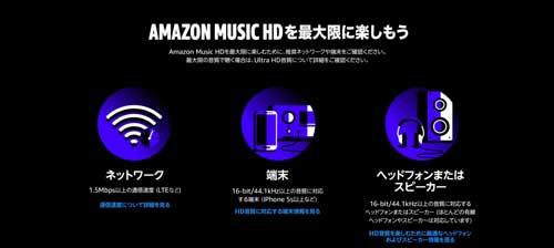 Amazon Music HDを最大限楽しむための環境
